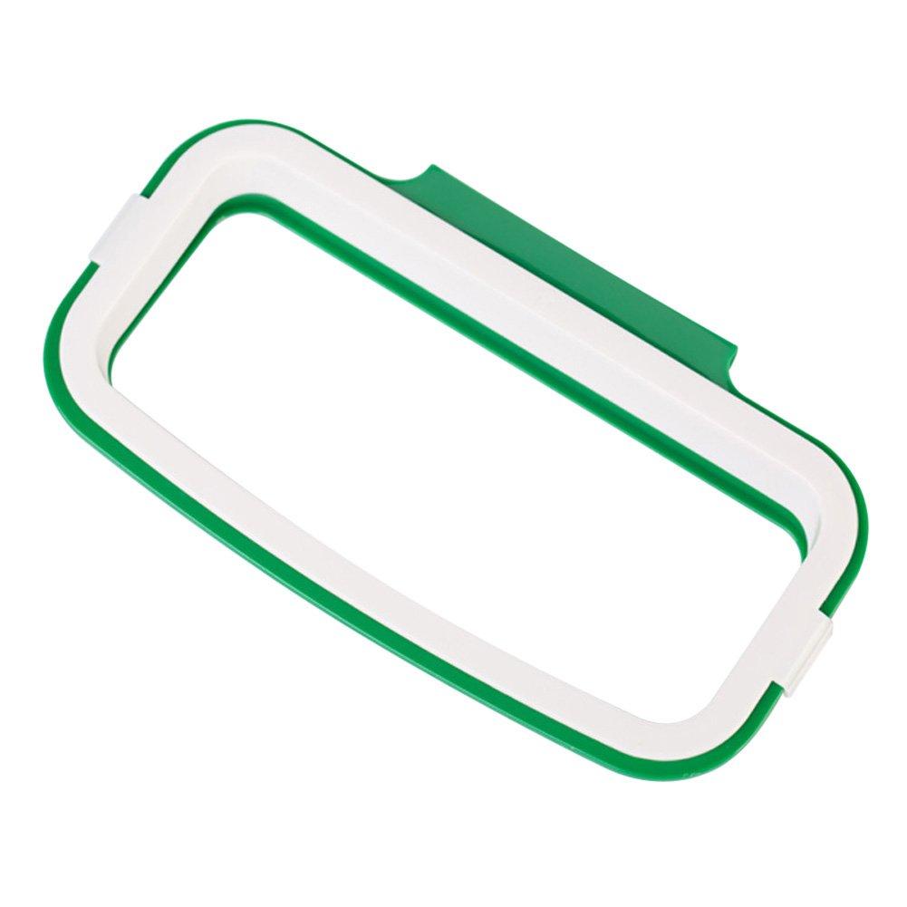 Demiawaking Porta Sacchetti Spazzatura Supporto per Saccheggio Appeso nell'Armadio Cucina