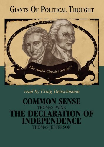 Common Sense and the Declaration of Independence by Craig Deitschman (Narrator) George H. Smith (2006-05-01)