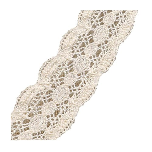 Dragon Troops Elegant Lace Edge Accessories Cotton Yarn Lace Rope Handmade Clothing Belt,S1