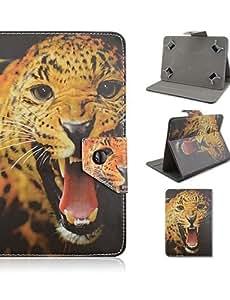 Fuda Tablet Cases sintética de alta calidad Funda de piel con soporte para Tablet Universal de 7