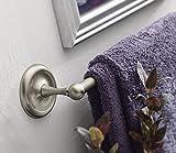 Moen 5324CH Yorkshire 24-Inch Towel Bar, Chrome,Small