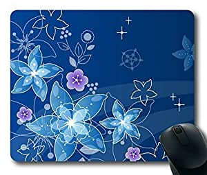 Elegant Flowers Easter Thanksgiving Personlized Masterpiece Limited Design Oblong Mouse Pad by Cases & Mousepads