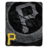 MLB Pittsburgh Pirates Retro Raschel Throw, 50 x 60-Inch