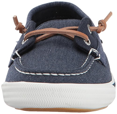 Top Sneaker Sperry Women's Navy Away Sider Lounge dWzFzUq