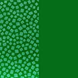 Mosaic Weighted Blanket Kids/Teen/Adult - Green Patches on Green (Adult Lg 20 lbs)