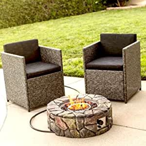 Outdoor Fireplace, Stone Design