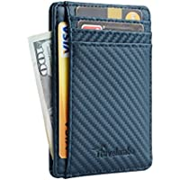 Travelambo Slim Leather Front Pocket Wallet (Multi Colors)