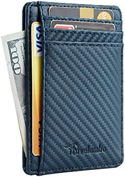 Travelambo Slim Leather Front Pocket Wallet