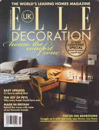 Classico Bed Linen - Elle Uk Decoration Magazine November 2012