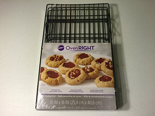 Wilton Oven Right 3 Tier Cooling Grid Cookie Cooling Rack
