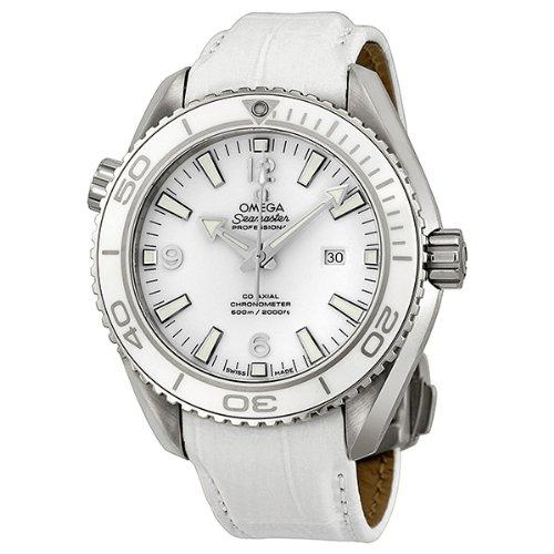 SEAMASTER planeta océano automático blanco Dial reloj de pulsera de los hombres de acero inoxidable: Amazon.es: Relojes