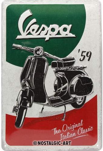 Vespa scooters Look vintage Reproduction plaque en m/étal 30,5/x 45,7/cm