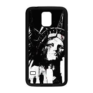 Stylish Statue of Liberty Design Plastic Cover for Samsung Galaxy S5