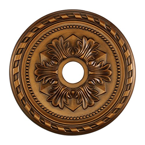 - Corinthian Medallion 22 Inch In Antique Bronze Finish