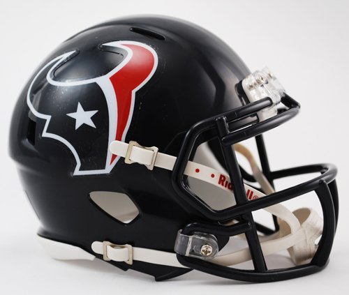 Riddell Revolution Mini Helmet (Riddell Revolution Speed Mini Helmet - Houston Texans)