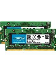 $51 » Crucial 8GB Kit (4GBx2) DDR3/DDR3L 1066 MT/s (PC3-8500) SODIMM 204-Pin Memory For Mac - CT2K4G3S1067M