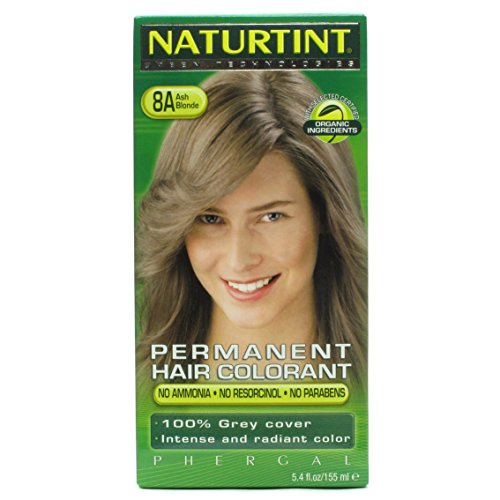 Hair Color-8A/Ash Blonde Naturtint 5.28 fl oz (Best Ash Blonde To Cover Orange)