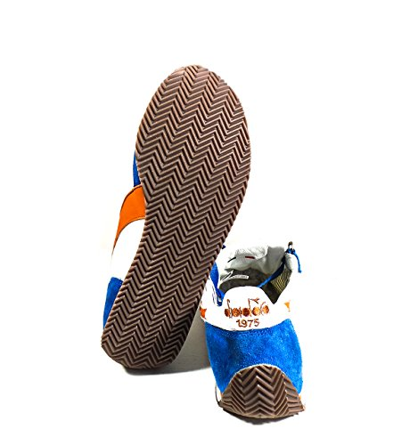 Diadora Equipe Nyl SW Waxed, Scarpe Low-Top Unisex-Adulto Blu