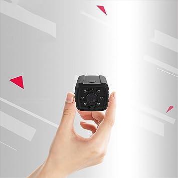 CQL Mini cámara de vigilancia, 1080P HD cámara inalámbrica WiFi, HD visión Nocturna Deportes al Aire Libre cámara de vídeo portátil casa móvil: Amazon.es: ...