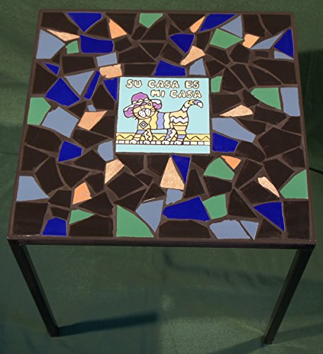 Mosaic Tile Top Table (Designs Patio Tile For Tables)