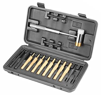 Wheeler Hammer and Punch Set In Plastic Case