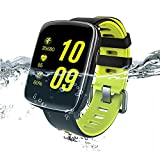 Fitness Tracker - IP68 Waterproof Smart Watch with Heart Rate Monitor Calorie Steps Counter Sleep Monitor for IOS & Android
