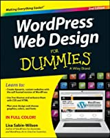 WordPress Web Design For Dummies, 2nd Edition Front Cover