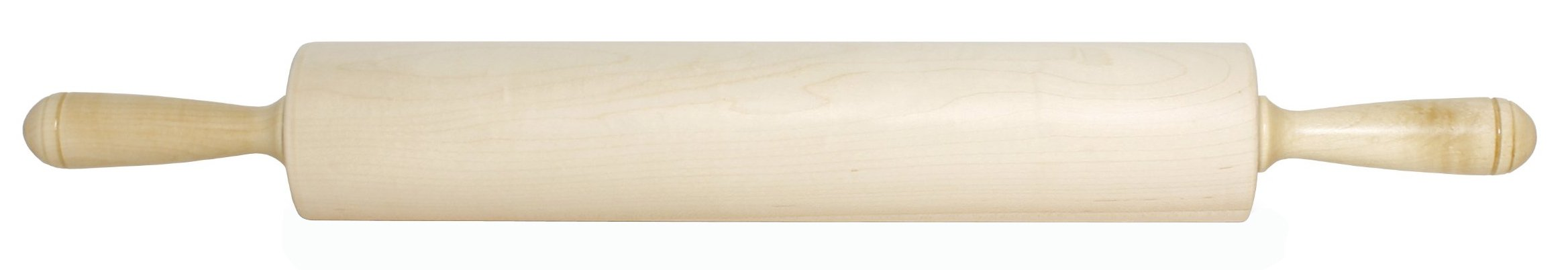 J.K. Adams Patisserie Maple Wood Rolling Pin, 15-inches by 2-3/4-inches