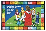 Faith Based Into His Arms Kids Rug Rug Size: 7'8'' x 10'9''