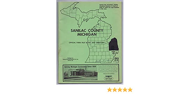 Sanilac County Michigan Official Farm Plat Book and ... on erie county plat map, jackson county plat map, fulton county plat map, huron county plat map, okfuskee county plat map, saginaw county plat map, yellow medicine county plat map, kalkaska county plat map, lenawee county plat map, grant county plat map, cambria county plat map, somerset county plat map, union county plat map, gaines county plat map, lake county plat map, grand traverse county plat map, camden county plat map, ida county plat map, st clair county plat map, clayton county plat map,
