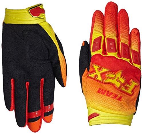 Fox Racing Dirtpaw Imperial Gloves - Medium/Red/Yellow