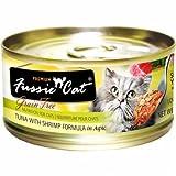 Fussie Cat Tuna and Shrimp Formula in Aspic (2.8 oz) For Sale