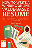 """If you are still writing your resume the old way then I hate to break it to you but your resume will just be another paper on the office     it's time to stand out and write a different kind of resume, I call it """"VALUE BASED RESUME"""""""