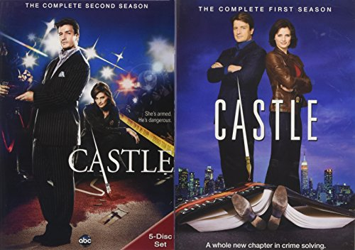 Castle Starter Bundle (Season 1 and 2) (Dvd Series Castle Tv)