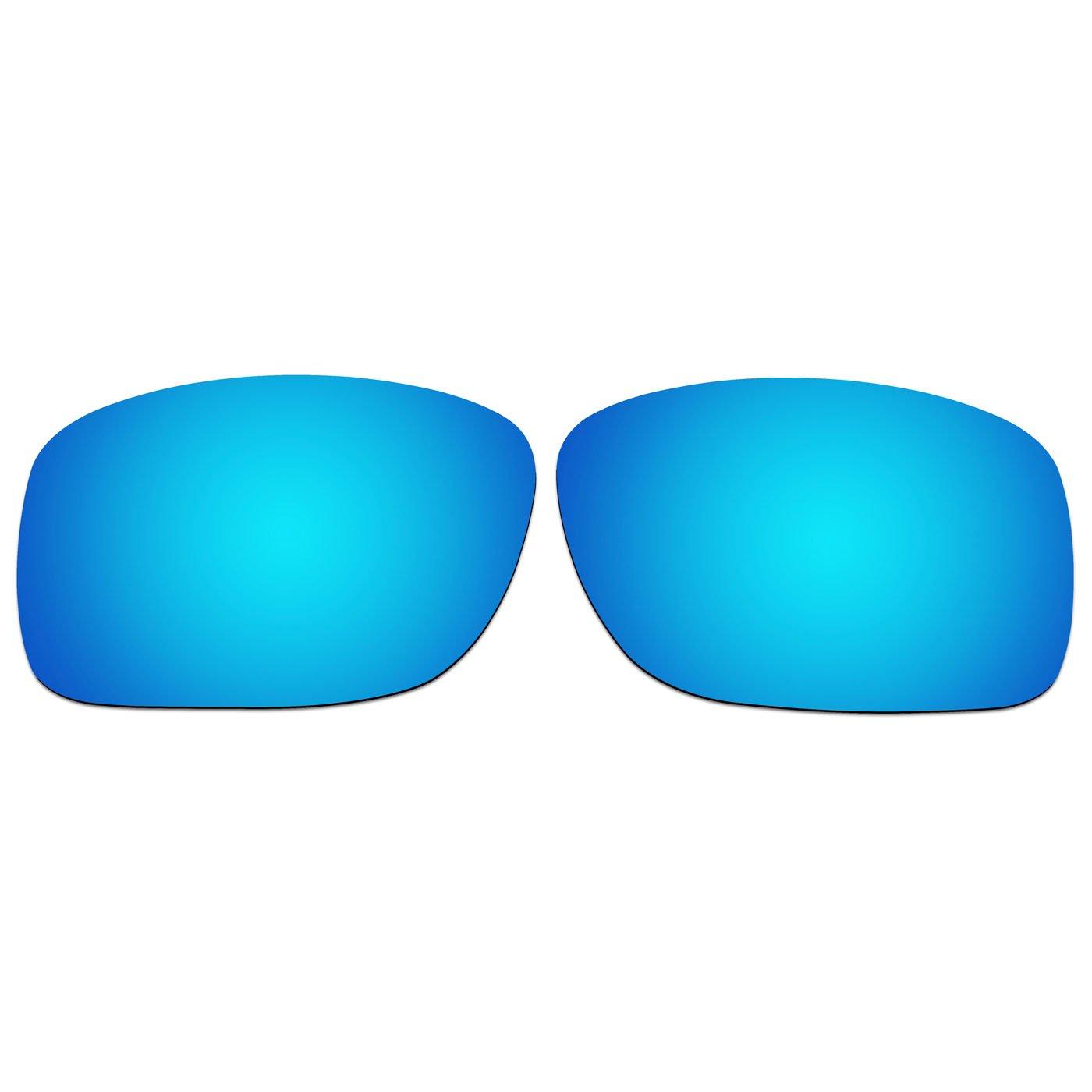 ACOMPATIBLE lentes de repuesto para Oakley Turbine XS (juventud Fit) gafas de sol oj9003, Ice Blue Mirror - Polarized: Amazon.es: Deportes y aire libre