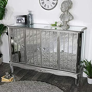 Melody Maison Tiffany Range Large Verspiegelt Sideboard Amazon De