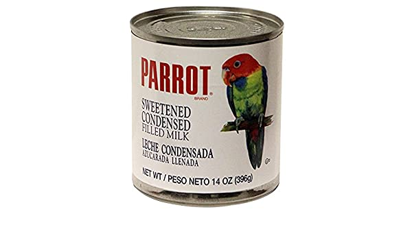 Amazon.com : Parrot Brand sweetened condensed Filled milk 14 oz (1 ...