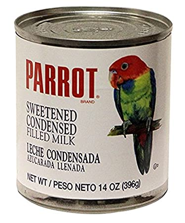Parrot Brand sweetened condensed Filled milk 14 oz (1 Pack)