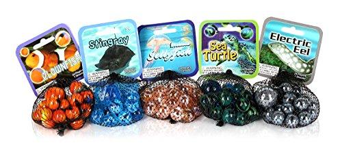 Sea Life Set (MegaFun USA Sea Life Mega Marbles Set)