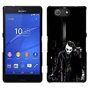 Impact Case Cover with Art Pattern Designs FOR Sony Xperia Z3 Compact Joker Dark City Bat Betty shop