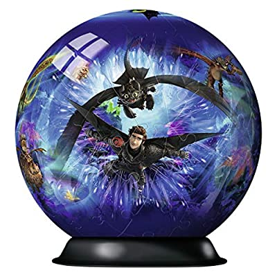 Dragons 3 3d Puzzle Ball 72 Teile Erlebe Puzzeln In Der 3 Dimension