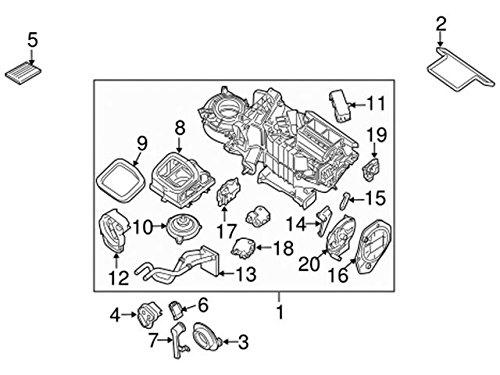 Amazon Com Nissan 27120 Ea000 Hvac Heater Core Automotive