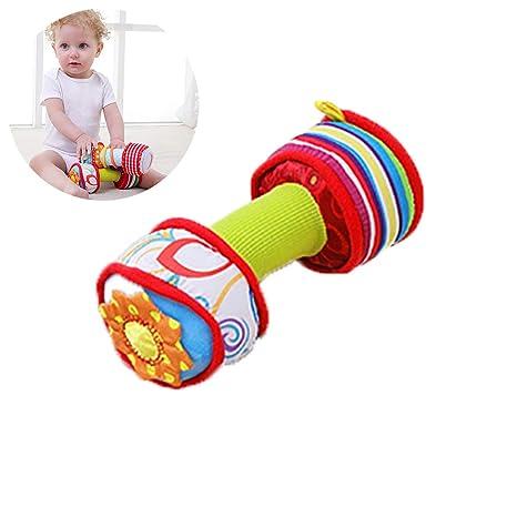 1 unids Carrito de la Cama Sonajero Colgante Bebé Juguete Educativo Cama Colgando Mancuerna Colorido Infantil