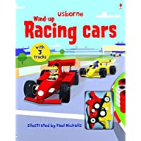 Usborne Wind-Up Books/Wind-Up Racing Cars Book