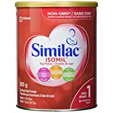 Similac Isomil with DHA Non-GMO Baby Formula, Powder, Lactose-Free, 800 g, 0+ Months