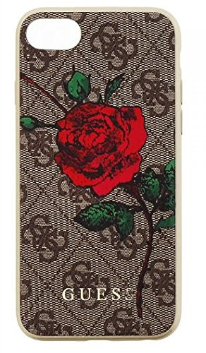 huge discount a9dfe 2899b GUESS Collection Desire Flower Case Cover for iPhone 8: Amazon.in ...