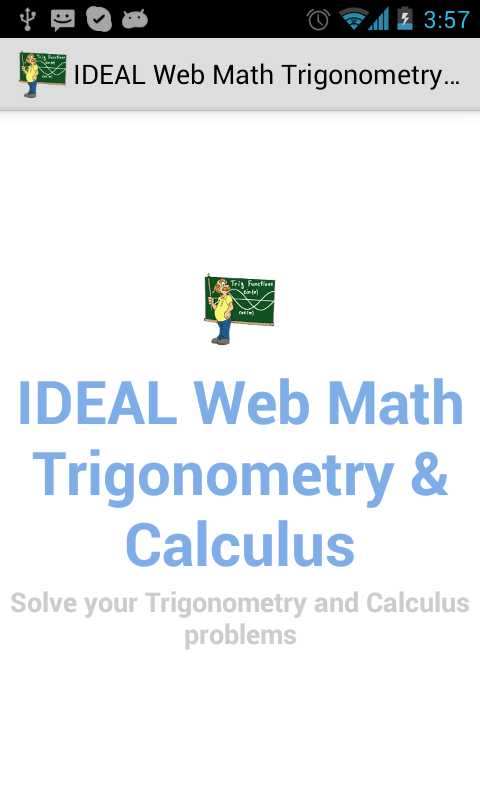 Amazon Ideal Web Math Trigonometry And Calculus Appstore For