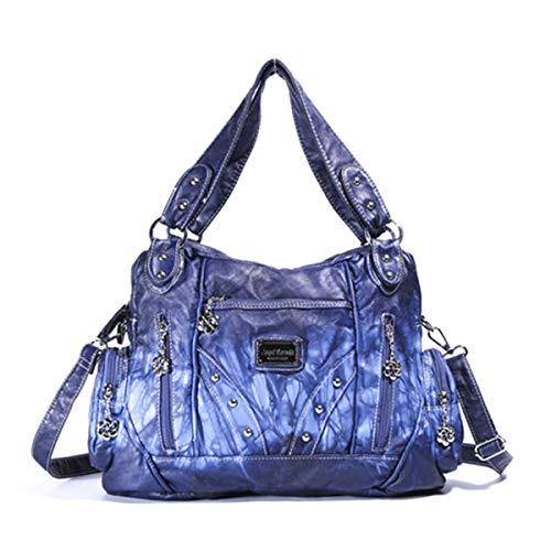 Angel Barcelo Purses and Handbags for Women Ladies'Shoulder Bag Designer Tie Dye Satchel Fashion Totes for Gril (AK161513)