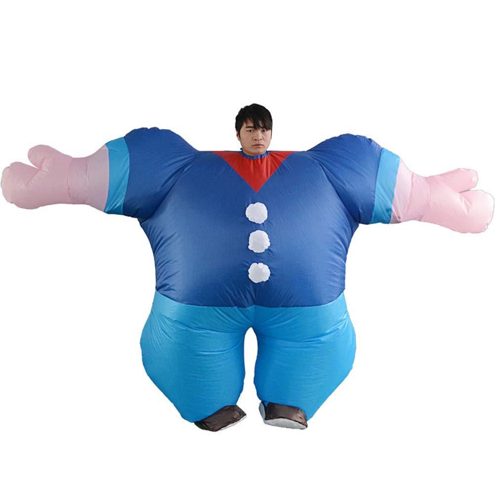 GaLon Aufblasbare Aufblasbare Aufblasbare Kleidung Erwachsene Hercules Dress Up Cosplay Aufblasbare Kleid Parodie Rave Party Maskerade Puppe Zeigen Requisiten a508f3