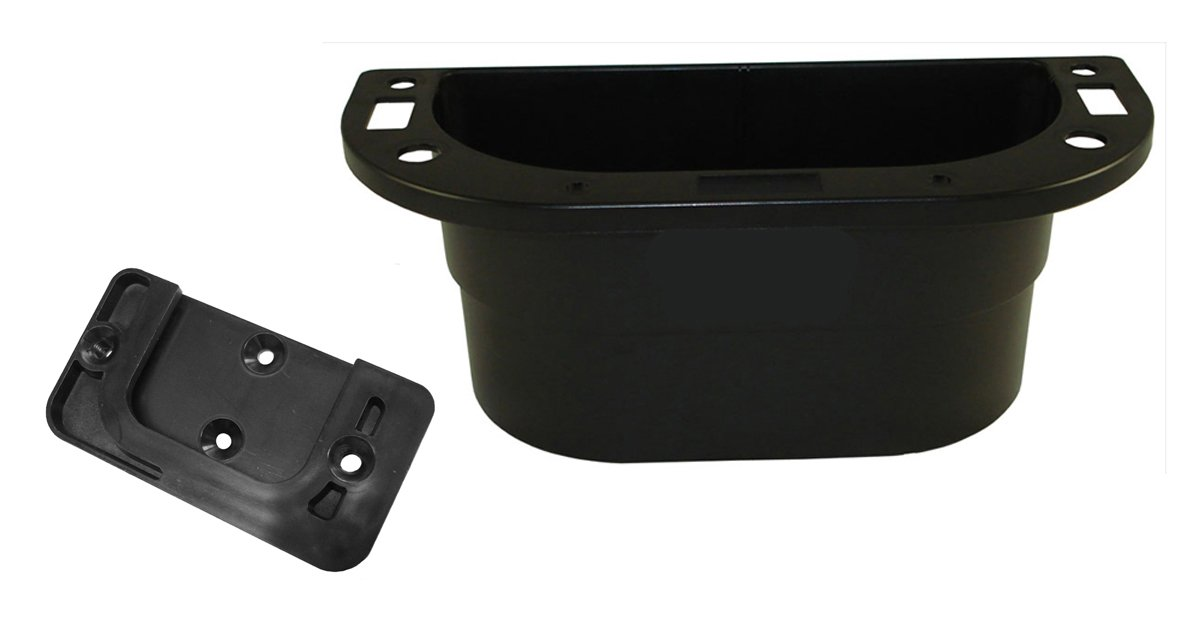 PiranhaLox 9-7541-13 Supply Caddy with Plastic Surface Mount